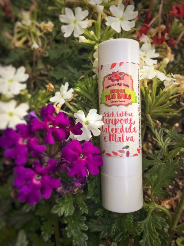 STICK Labbra al Lampone, Calendula e Malva-2020