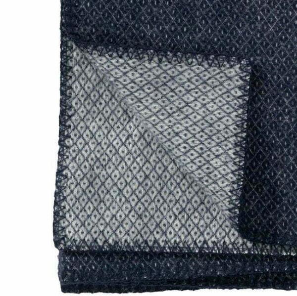 Plaid in lana PEAK 130x180cm Denim-3737
