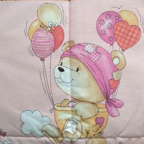 Trapuntina Baby 110x140cm ORSETTI Rosa-7406